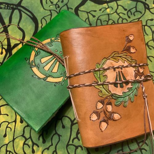 Leather Awen Journals