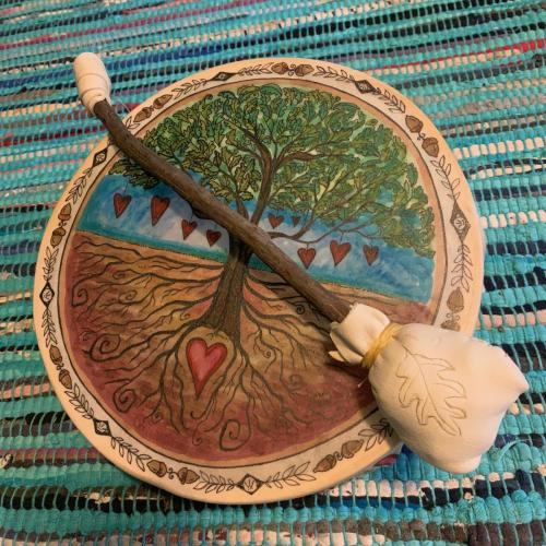Spirit Tree Drum