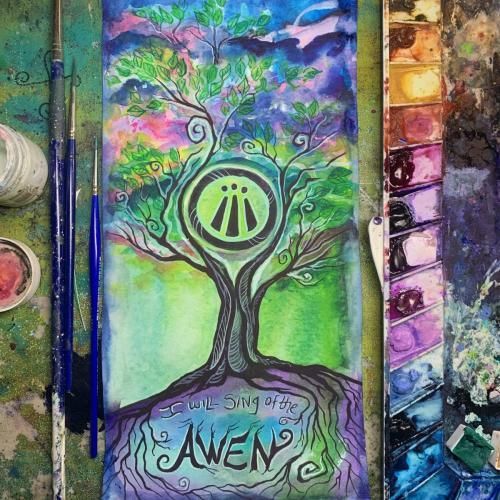 Awen painting