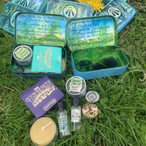 Sacred Grove Kits (Initiation Gifts for OBOD Bardic Initiations, MAGUS 2019)