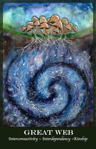 Great Web Card from Plant Spirit Oracle