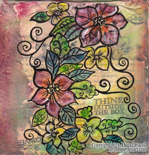 vines flowers